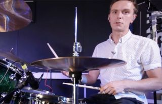 Rich Patterson shows you how to play Stewart Copeland's groove on 100 Greatest Drum Beats