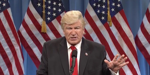 Alec Baldwin as Donald Trump