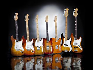 The new Fender Select Series, five guitars and two basses