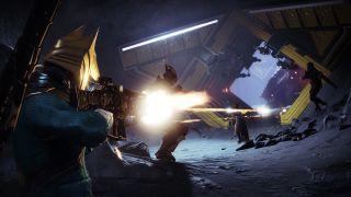 Destiny 2 Warlock shooting other Guardians in Trials of Osiris Crucible