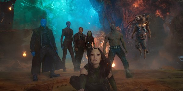 The Guardians of the Galaxy sequel team assembled