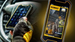 DeWalt's take on the smartphone can take a beating