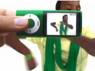 iPod nano advert