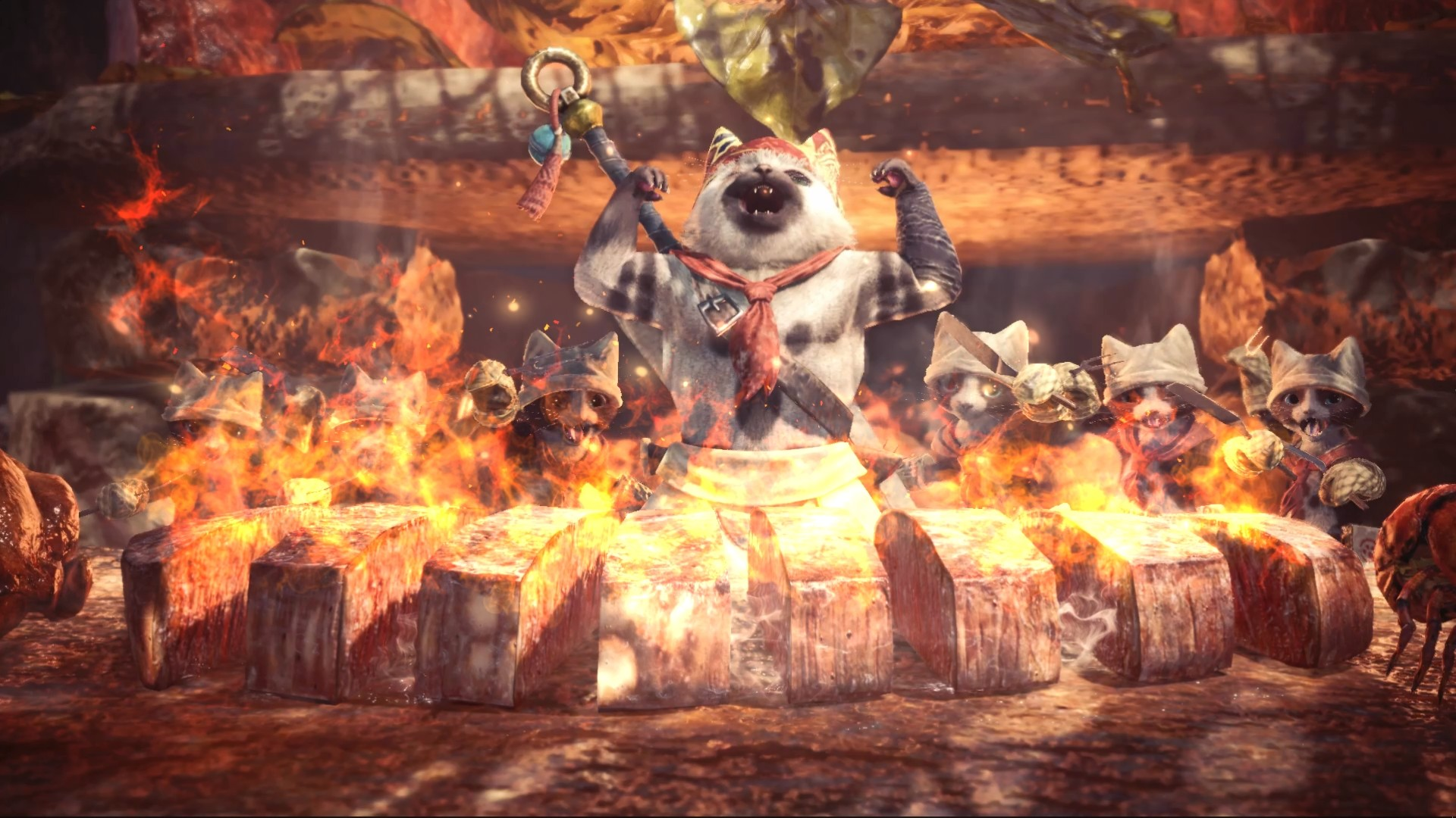 Watch YouTuber Babish make the chef's choice platter from Monster Hunter: World