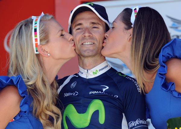 Alejandro Valverde wins Tour Down Under 2012 stage five