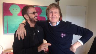 Ringo Starr and Paul McCartney