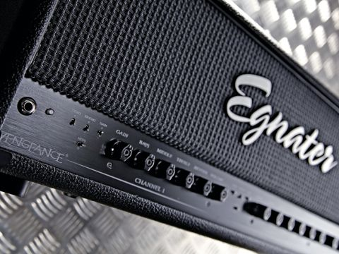 Egnater's two-channel Vengeance head is perfectly suited to straight-ahead rock.