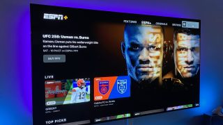 ESPN Plus app on Apple TV