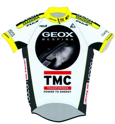 Geox TMC jersey 2011