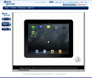 Video Tutorial: Adding a Website Icon to your iPad Homescreen