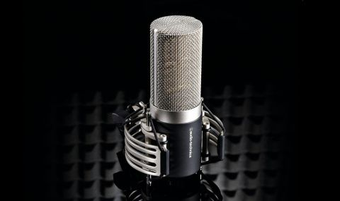 Audio Technica's flagship large diaphragm condenser mic is 100 per cent hand built and inspected