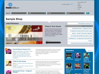 The MusicRadar sample store: find out what's new.