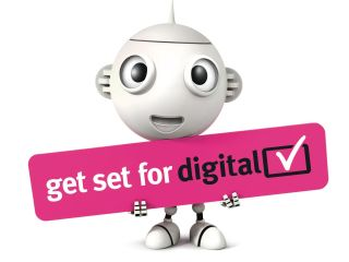 Digital UK - we sent leaflets