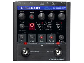 The VoiceTone Create XT features HardTune effects.
