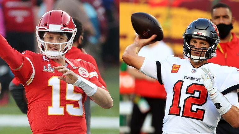 Super Bowl live stream Patrick Mahomes and Tom Brady