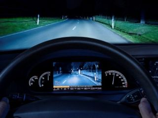 Bosch s new and improved new Night Vision in car camera alerts you to moving objects on the roadside at night
