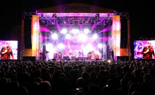 JBL VERTEC Line Arrays and Soundcraft Vi6 Console at One Love Festival in Turkey