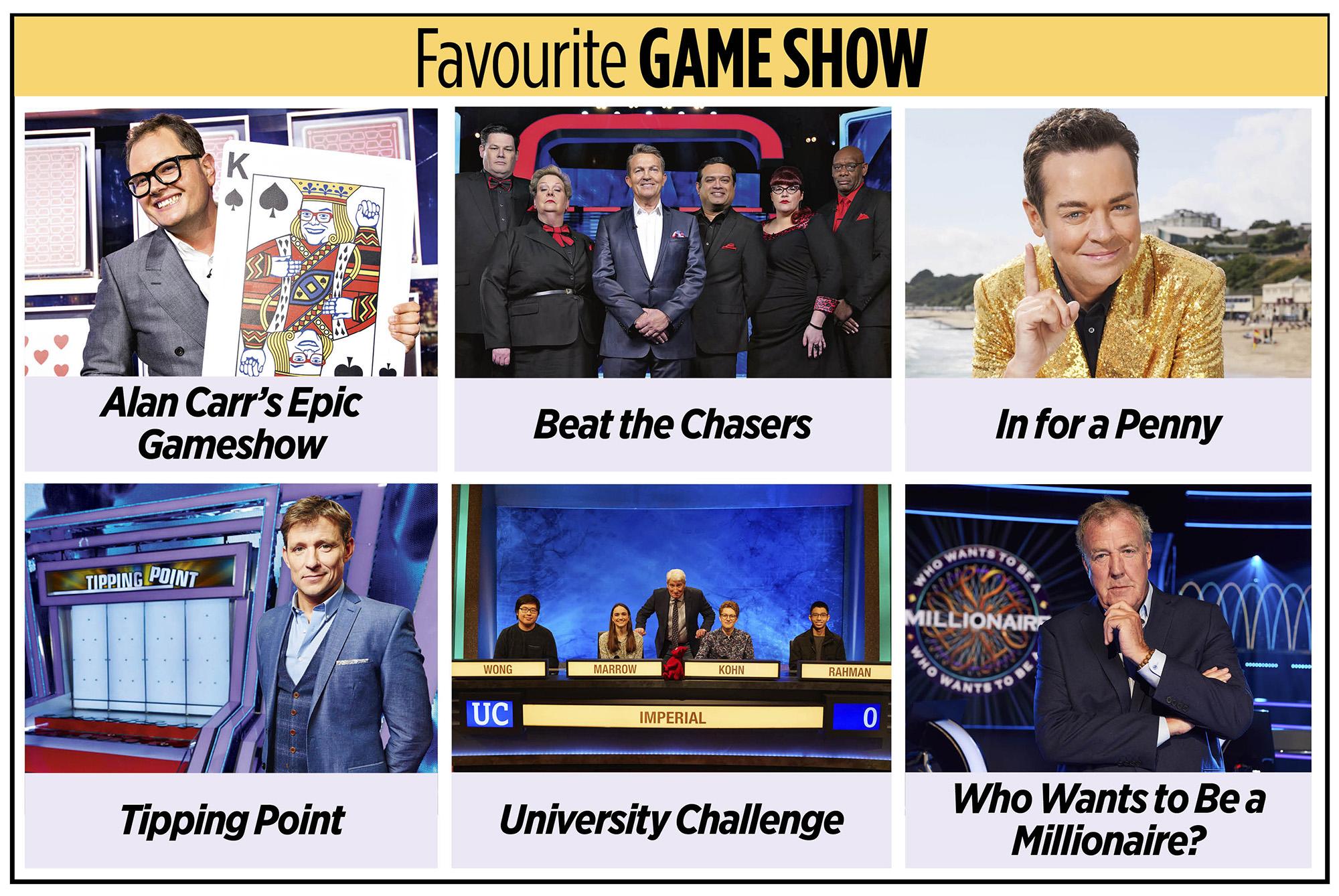 Programa de juegos favorito de TV Times Awards 2020