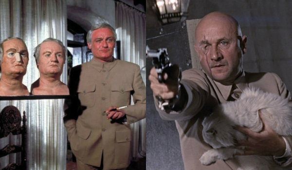 Blofeld Donald Pleasance Charles Gray