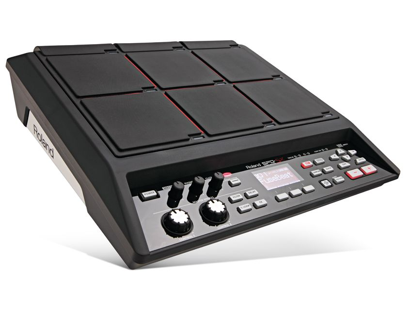 roland spd sx sample pad musicradar. Black Bedroom Furniture Sets. Home Design Ideas