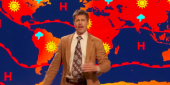 Watch Brad Pitt As A Depressing Weatherman In Surprise Comedy Central Appearance