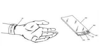 Apple takes '90s trend too far with flexible slap band iWatch patent
