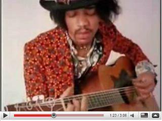 The late great Jimi Hendrix