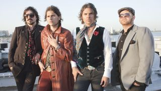 The new kinds of blues-rock, Rival Sons. (from left) Scott Holiday, Jay Buchanan, Robin Everhart and Mike Miley