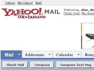 my yahoo account is sending spam