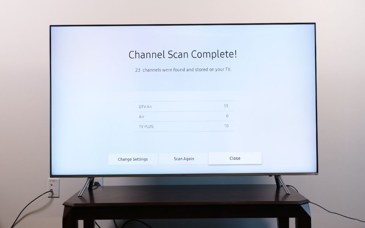 How to Set Up Over-the-Air Channels on Your Samsung TV - Samsung TV