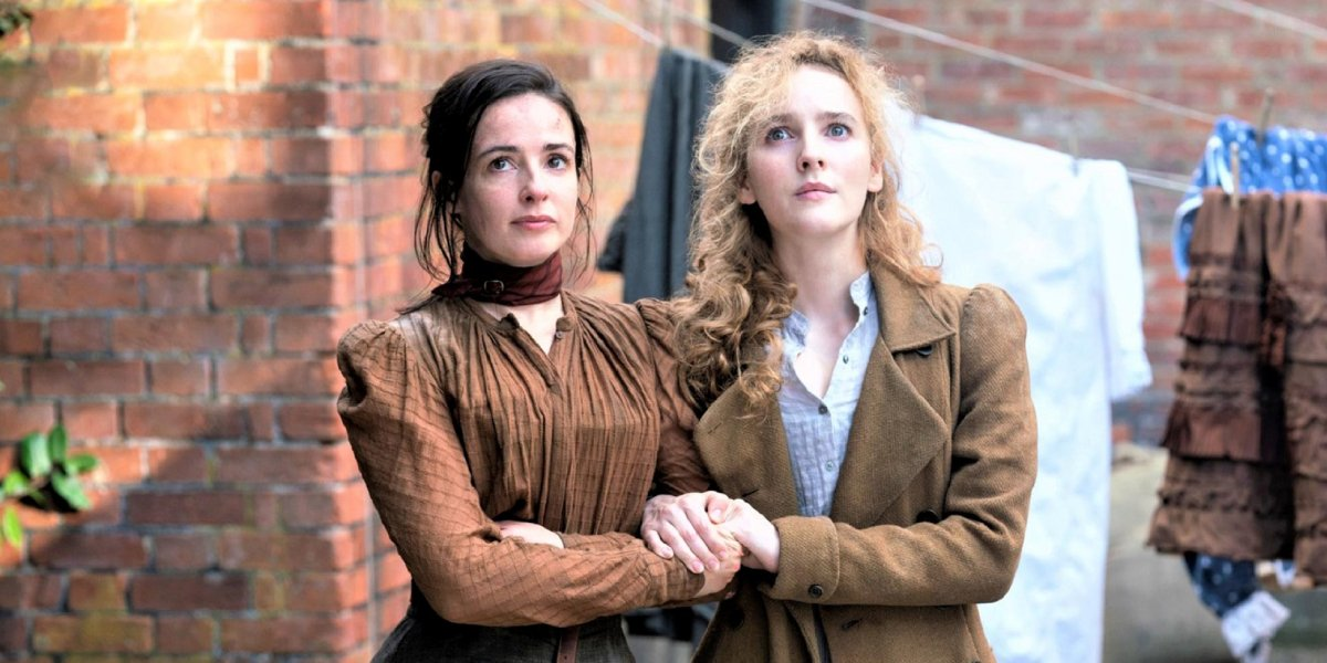 Laura Donnelly and Ann Skelly on The Nevers