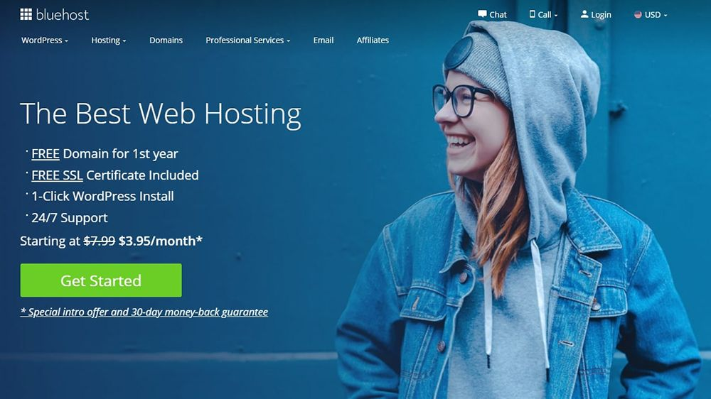 Limited web hosting deal from Bluehost cuts 12-month plan cost by 60%