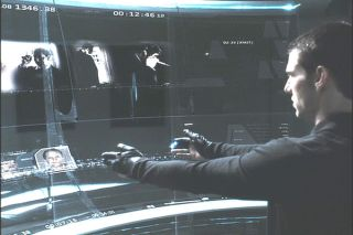 Xbox to get Minority Report style menu system?