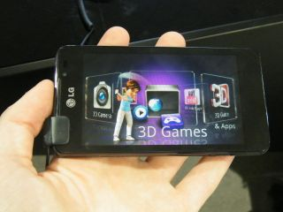 In Pictures: LG Optimus 3D Max