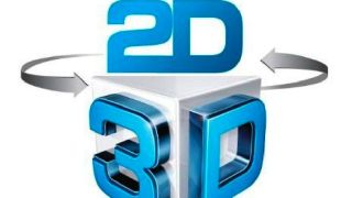 2D to 3D and back again