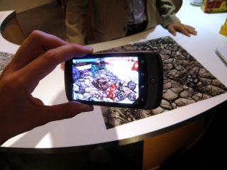 Qualcomm shows off fighting robots as part of augmented reality