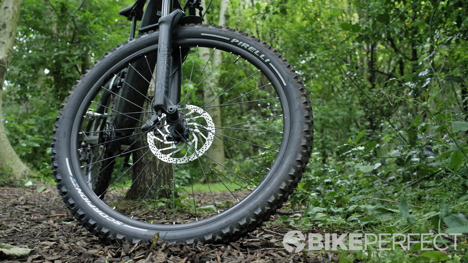 Rubber Tire Bike MTB Pirelli Scorpion Mixed Terrain 27,5 x 2.6 Tubeless