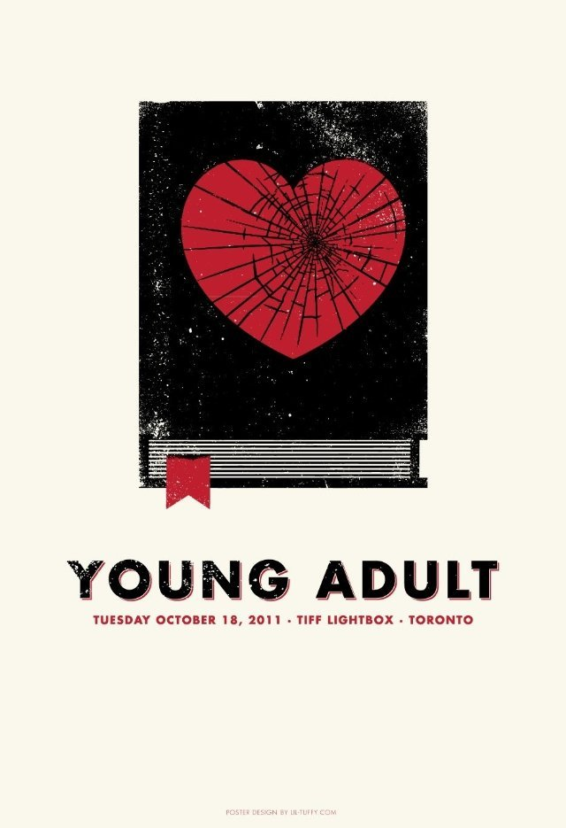 Charlize Theron Looks Upset In New Poster For Young Adult #5282