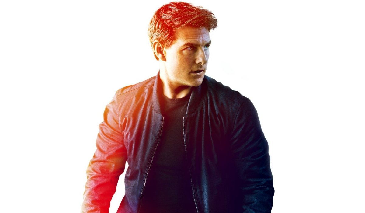 Mission: Impossible Fallout Tom Cruise with a gradient of color
