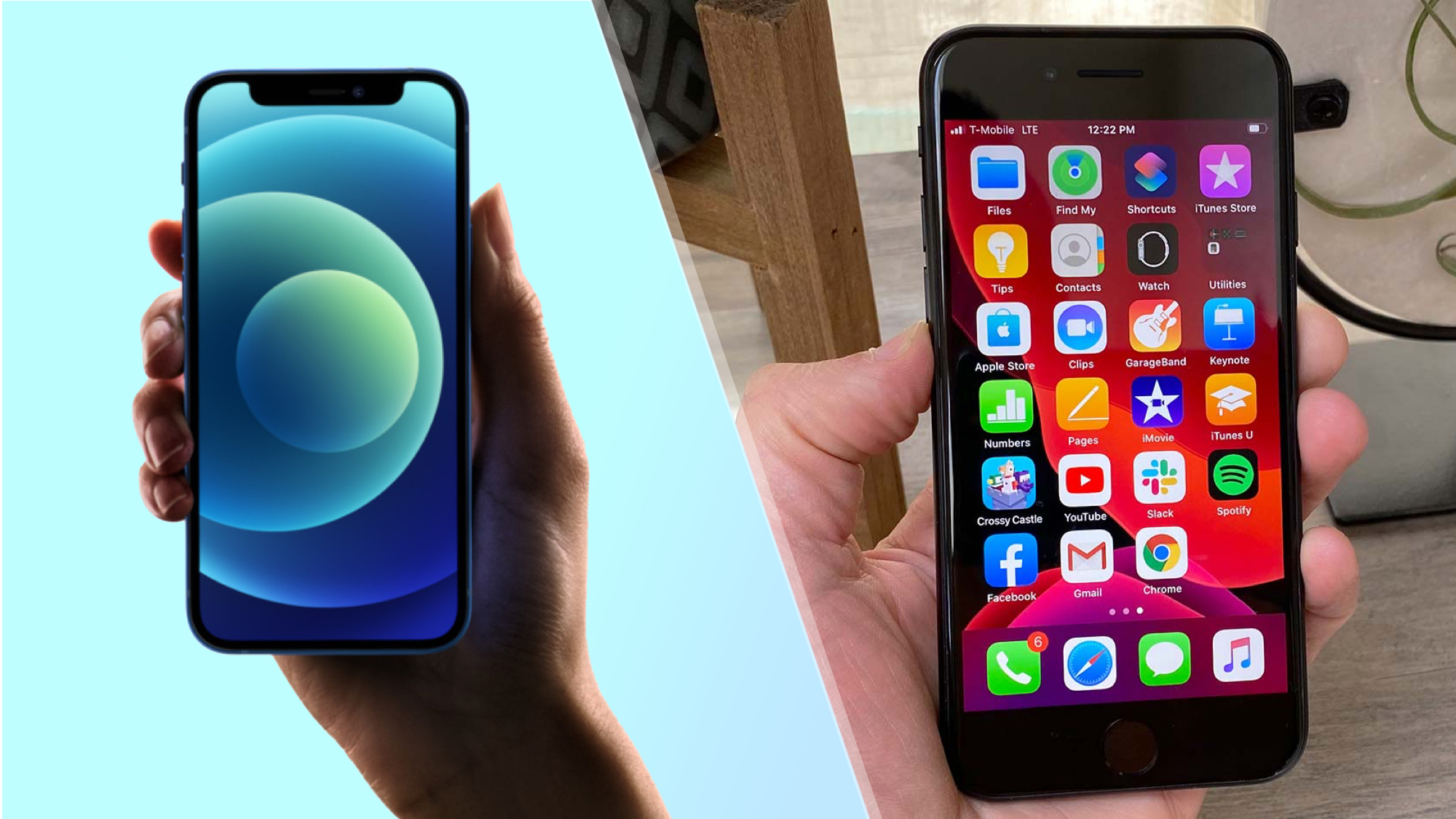 Iphone 12 Mini Vs Iphone Se Which Small Phone Is Best Tom S Guide