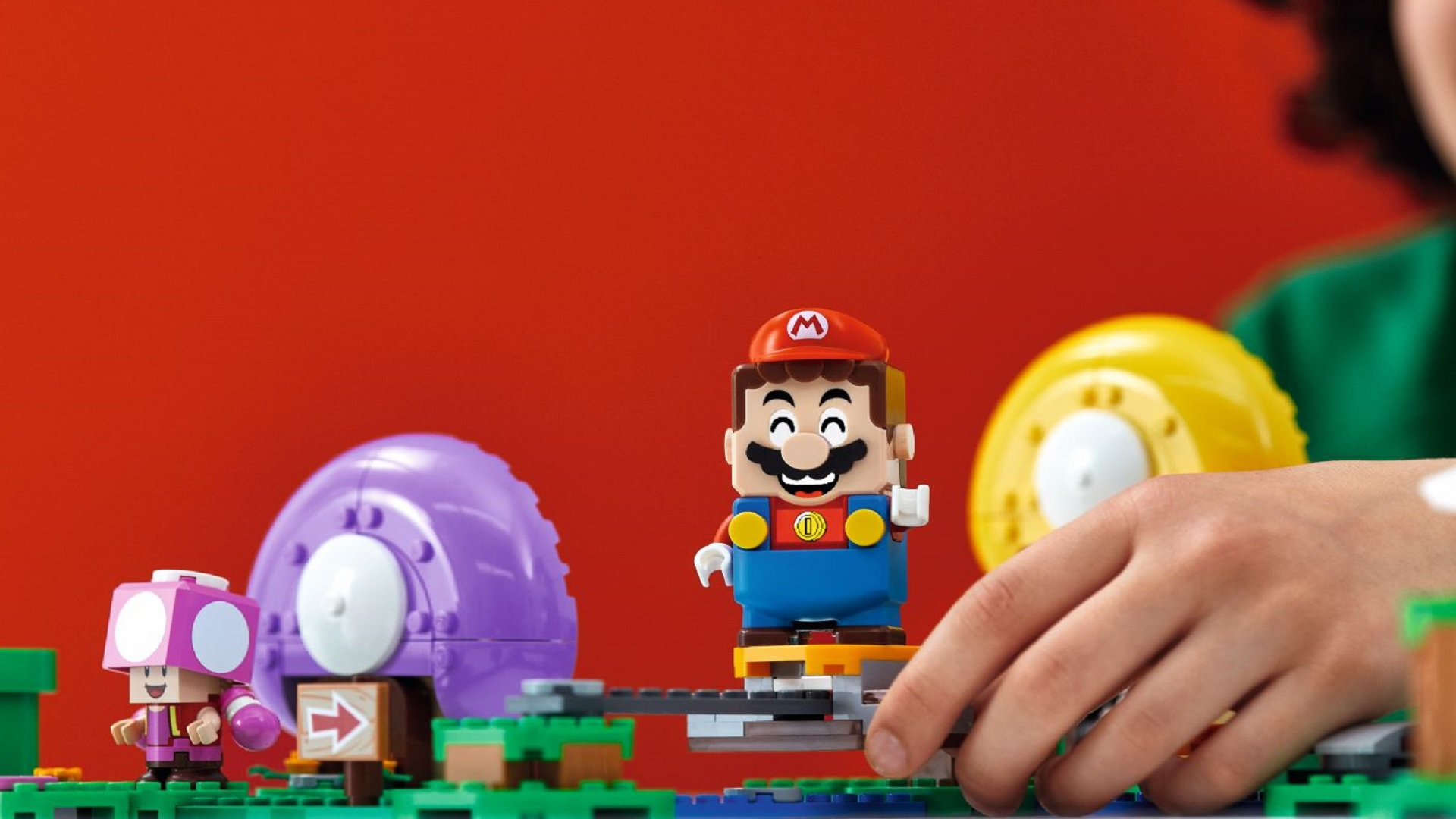 Lego Super Mario Expansion Sets Revealed Featuring Yoshi Toad