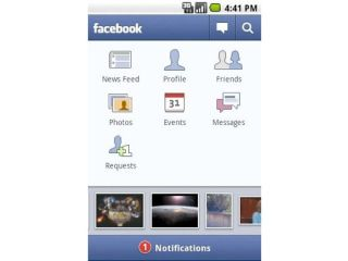 Facebook updated for Android