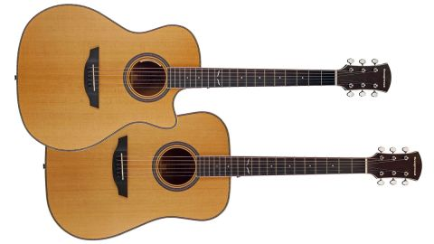 Orangewood Hudson and Sage Live acoustic guitars