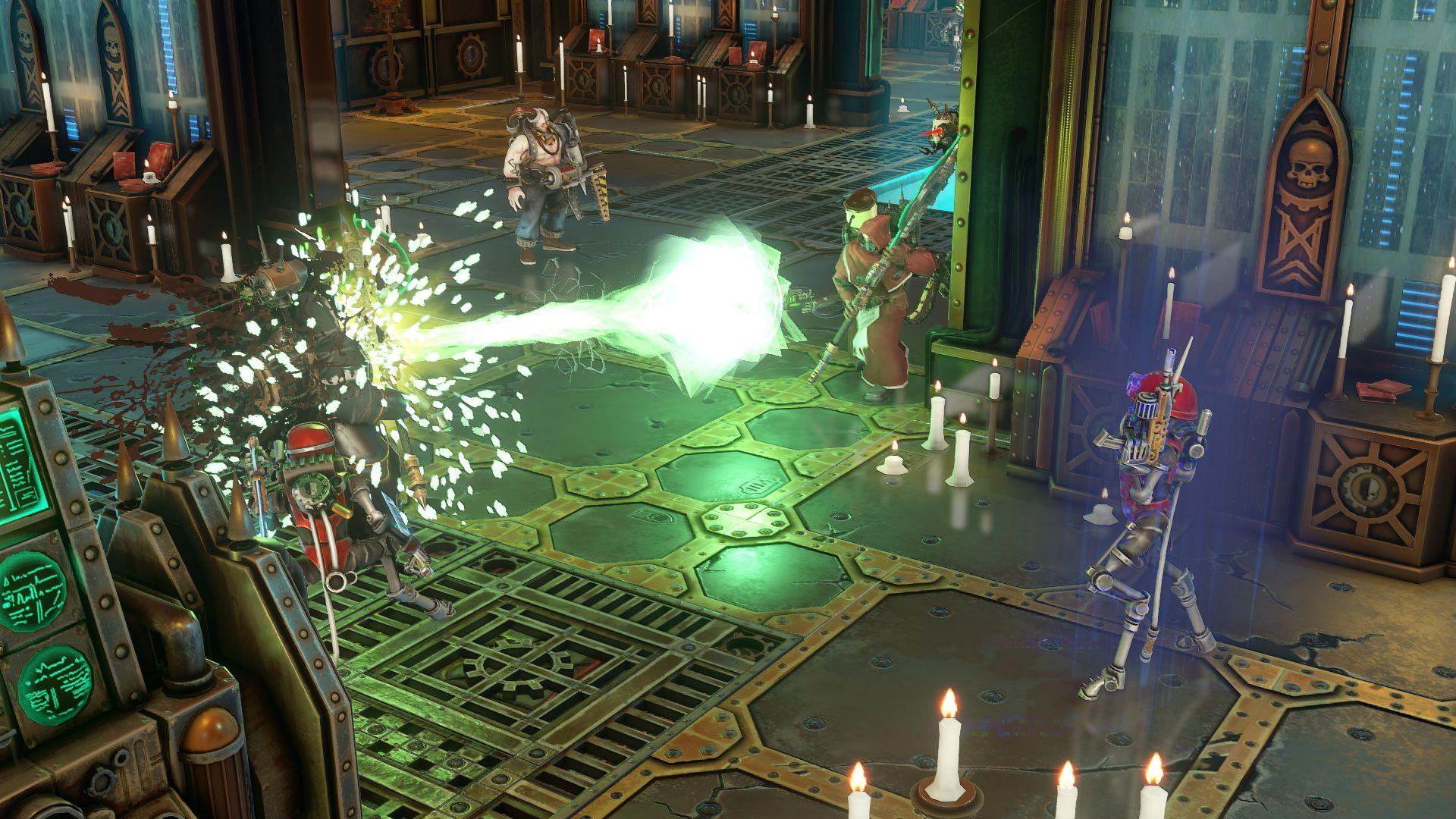 Warhammer 40,000: Mechanicus is getting new enemies   PC Gamer