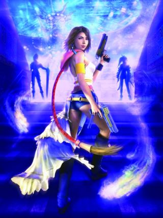 Final Fantasy X-2 HD Remaster screens show divas of Spira