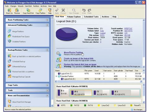 Buy now paragon drive backup professional 8.5