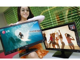 LG's new 3D monitors: this lady's a fan