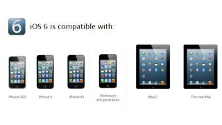 Apple iOS 6 compatibility