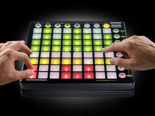 Each of the Launchpad's trigger buttons can light up in three different colours.