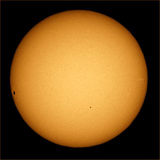 November 2006 Transit of Mercury Image